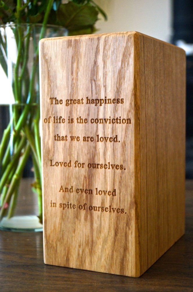 Personalised Wooden Bookends from MakeMeSomethingSpecial.com