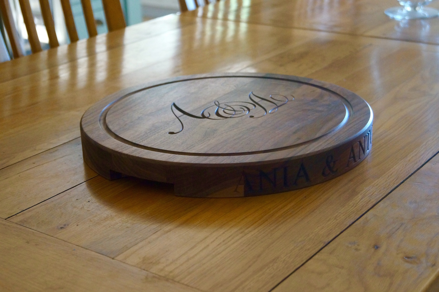 Engraved Cheeseboard - Wedding Gifts by Make Me Something Special