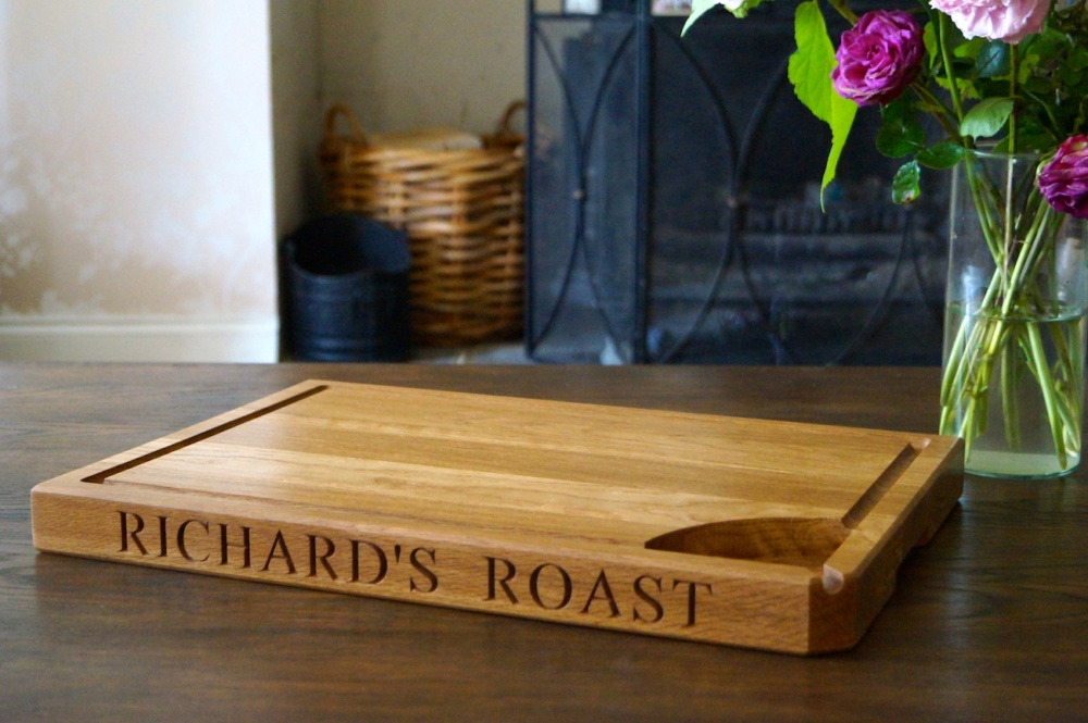 Personalised Chopping Board Created by MakeMeSomethingSpecial.com