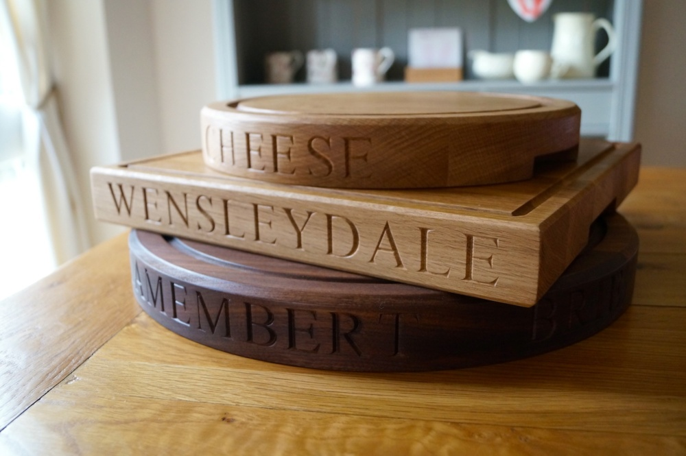 Personalised Cheese Board Set from MakeMeSomethingSpecial.com
