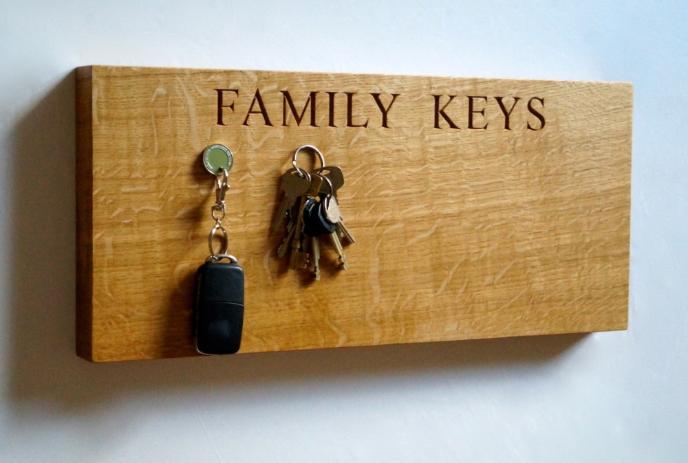 Wooden Key Organisers from MakeMeSomethingSpecial.com