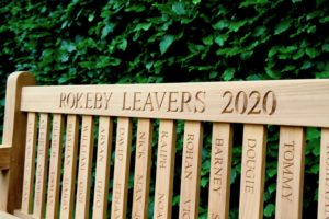 personalised-leavers-bench