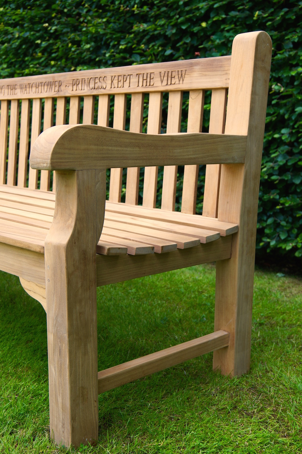 Marvelous Our Park Land Personalised Wooden Benches Caraccident5 Cool Chair Designs And Ideas Caraccident5Info