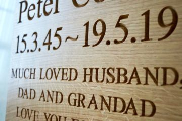 Personalised Wooden Plaques